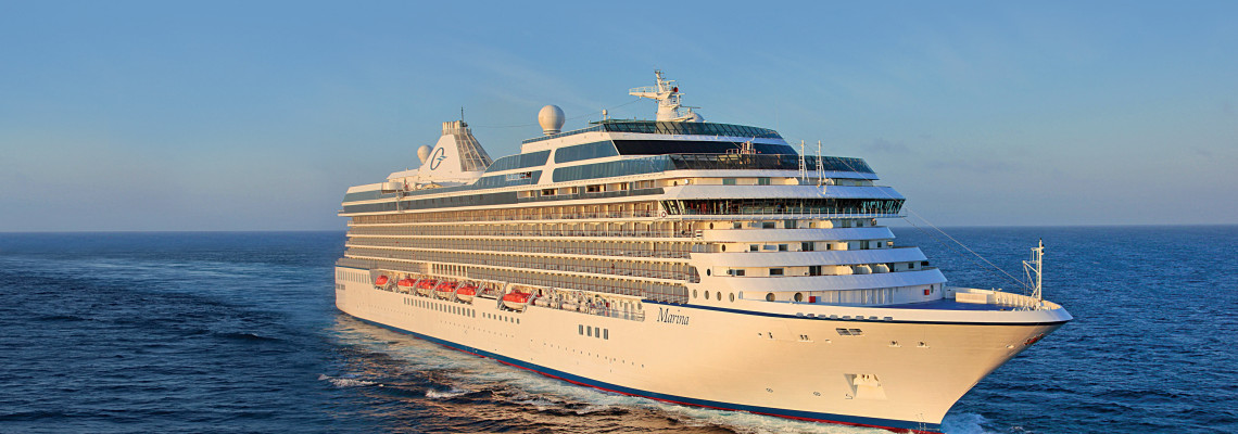 Oceania Cruises Marina at sea