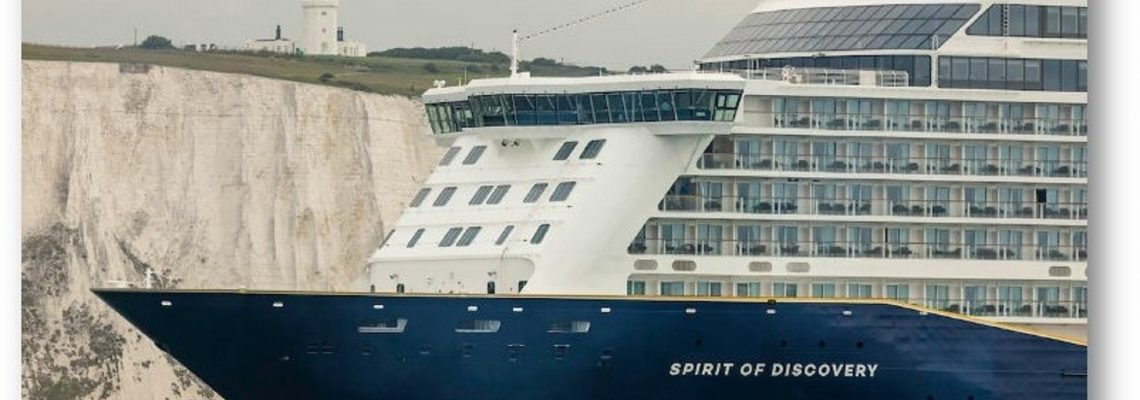 Spirit of Discovery sailing into Dover