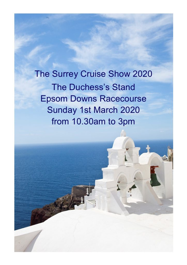 The Surrey Cruise Show - visit the website to find out more